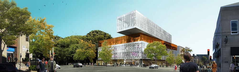 Halifax Central Library 3D Rendering
